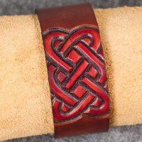 Läderarmband-04 brun