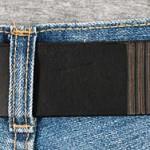 Läderbälte svart bak