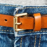 Läderbälte 16mm, spänne 16-01