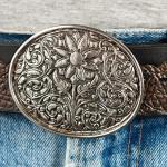 Läderbälte-silverspänne-2