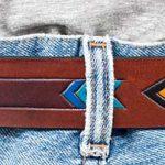 Läderbälte 35mm brun